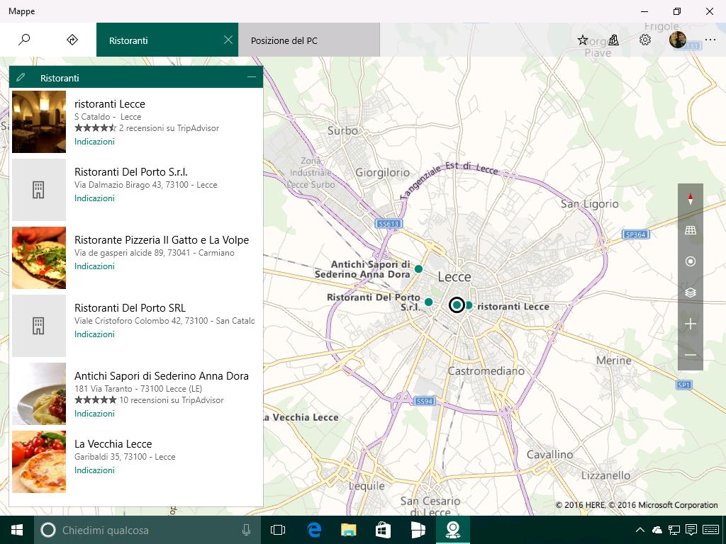 Mappe - Mete e luoghi d'interesse