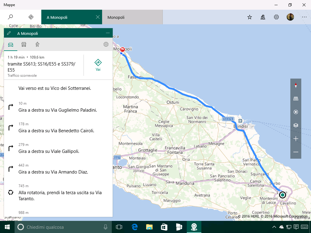 Mappe - Navigatore