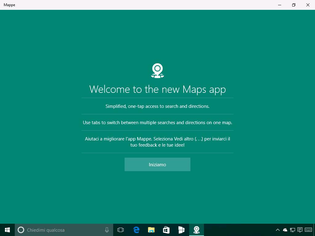 Mappe - Windows 10 Build 14291