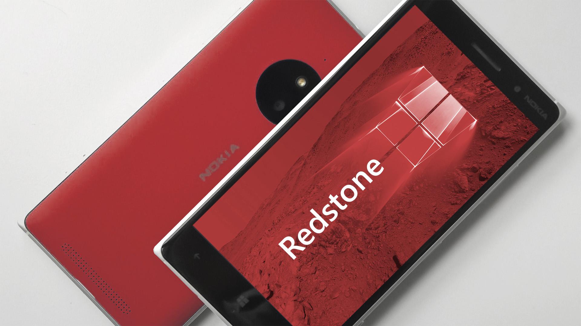 Lumia Redstone windows 10 mobile