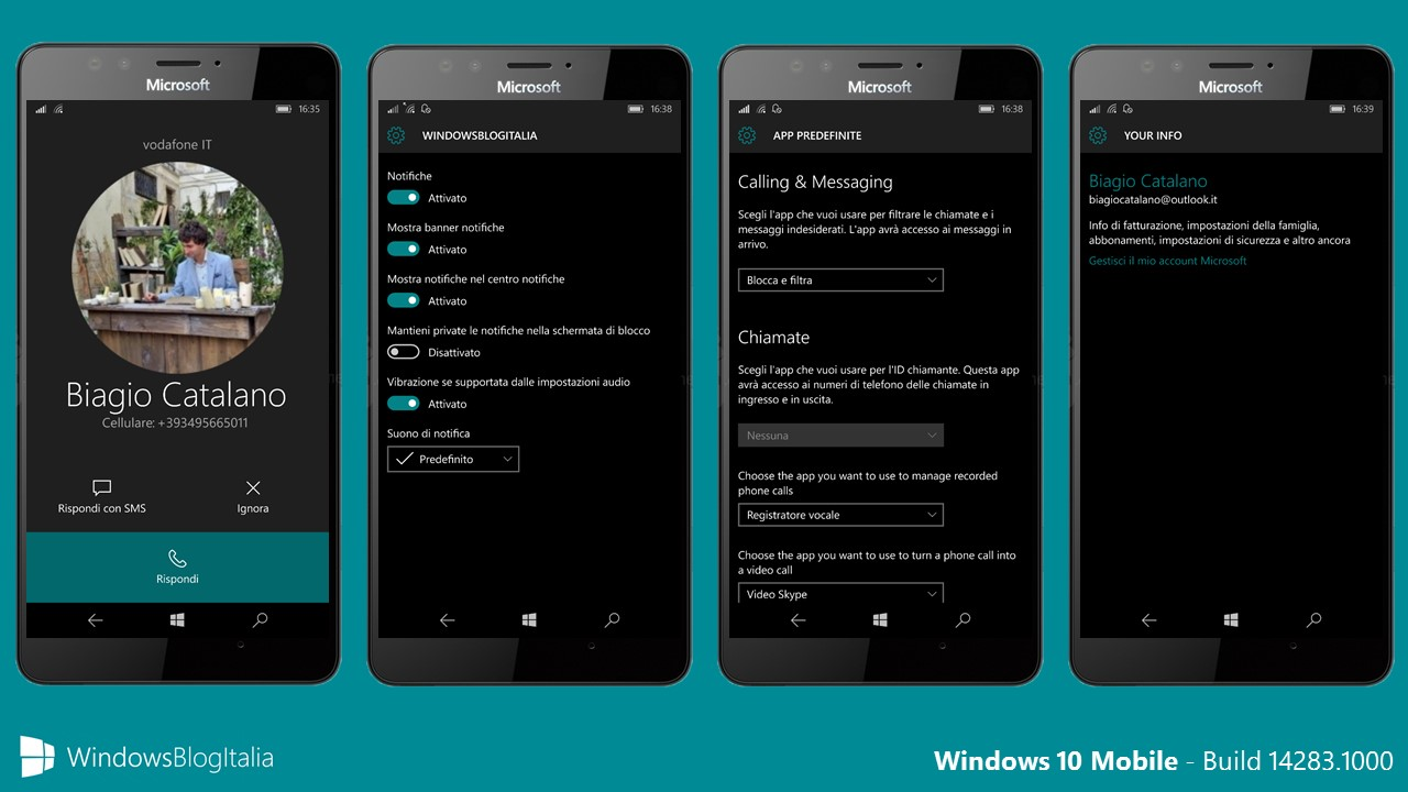 Windows 10 Mobile - build 14283