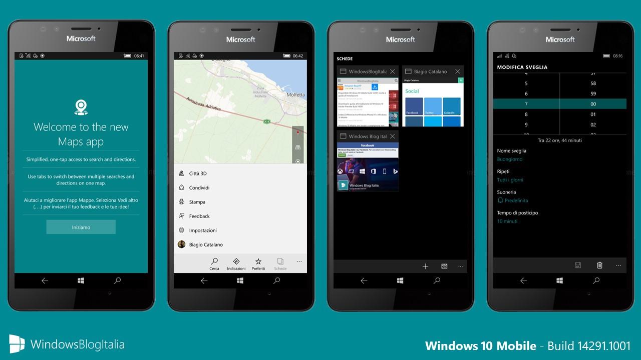 Windows 10 Mobile - 142891.1001