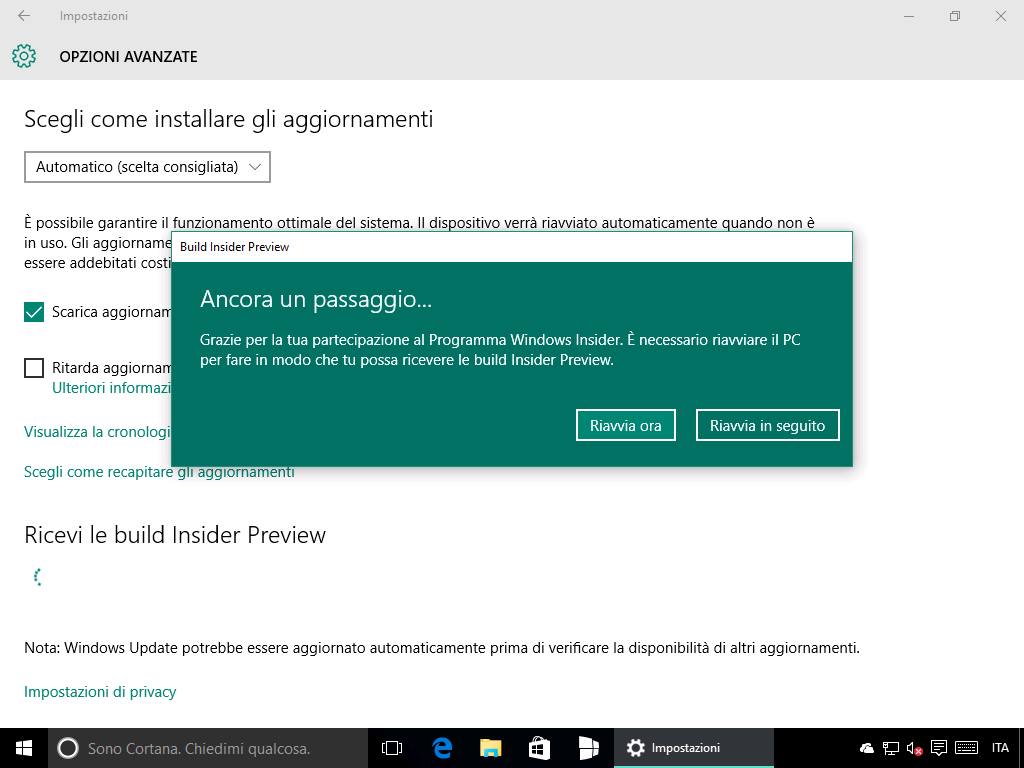 10586.240 - Windows Insider - 4