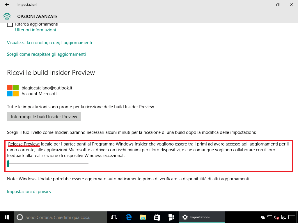 10586.240 - Windows Insider - 5