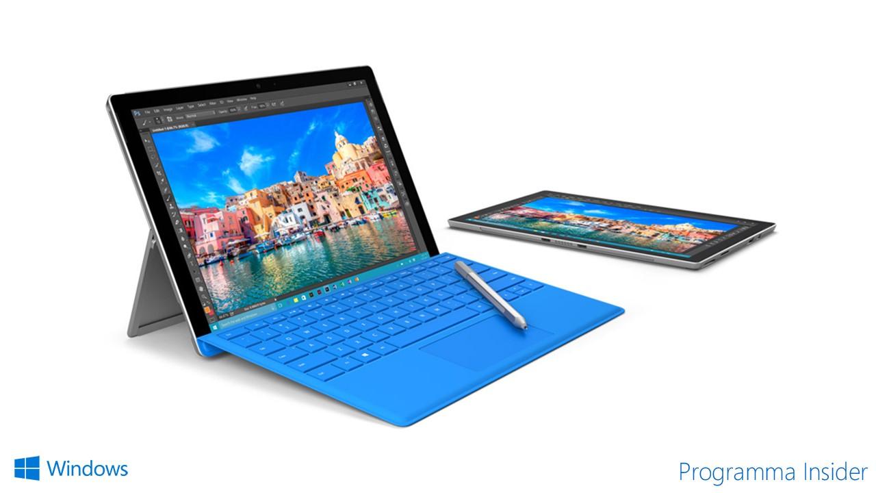 13 - Programma Insider - Surface Pro 4