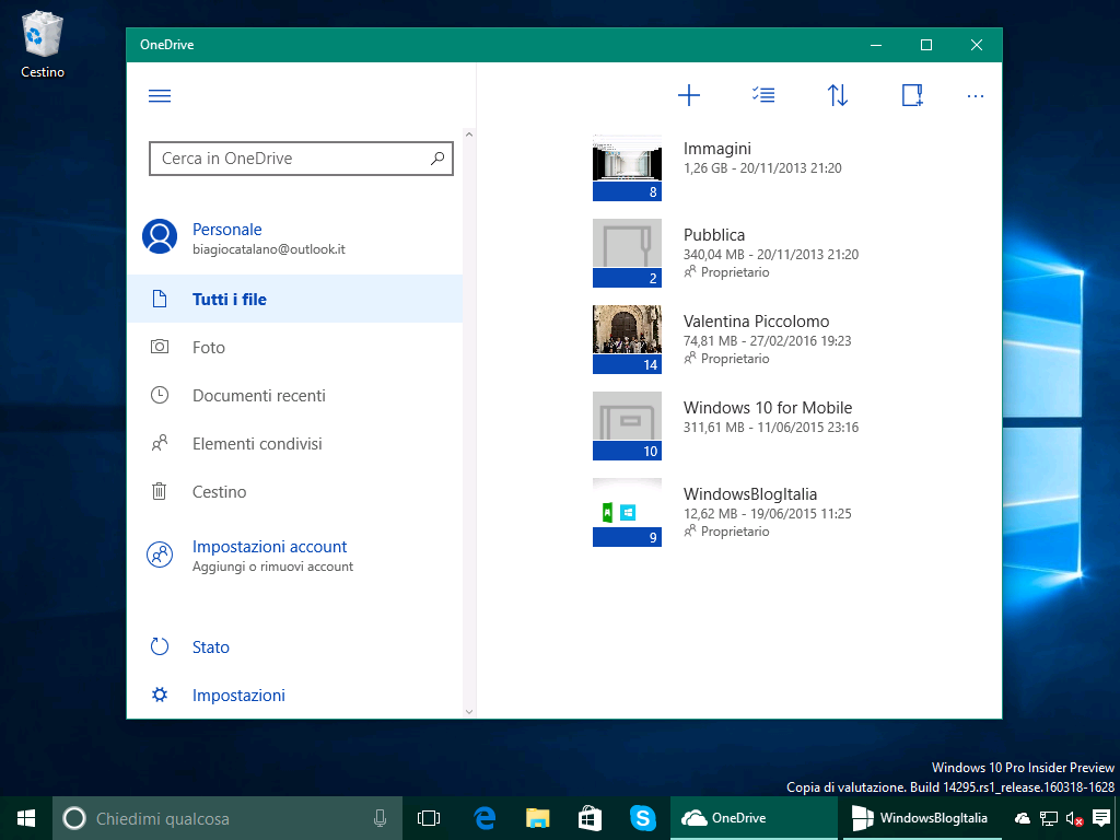 onedrive app download for windows 10