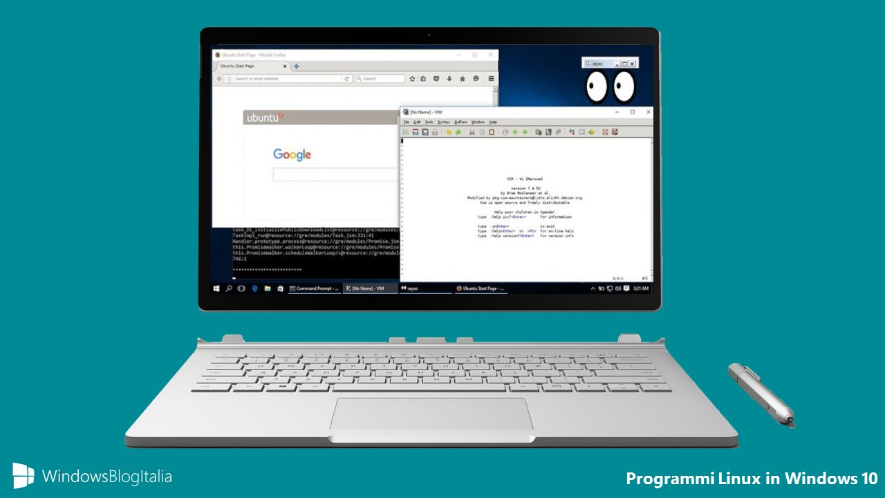 Programmi Linux in Windows 10