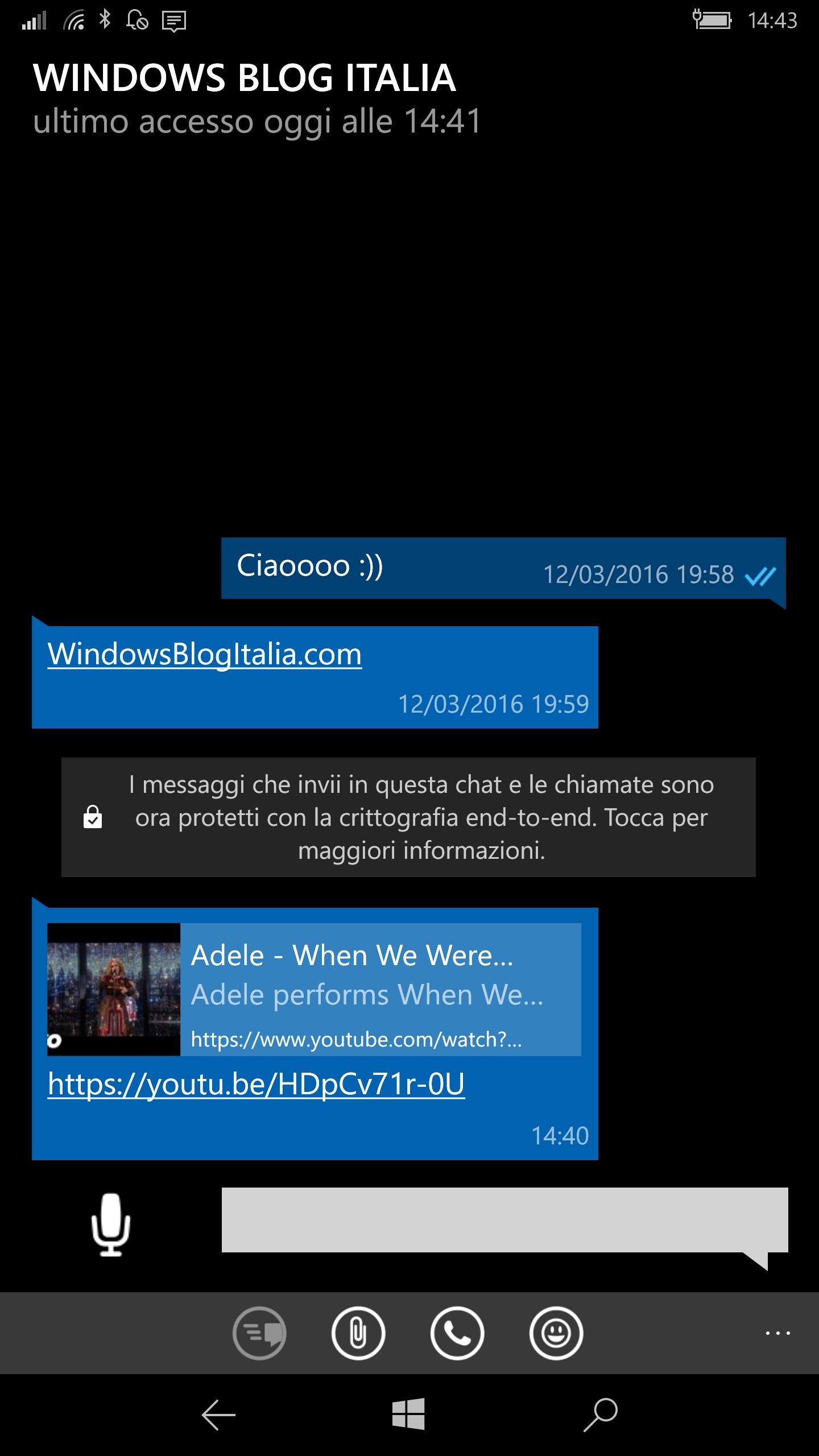 WhatsApp Beta - Anteprima link