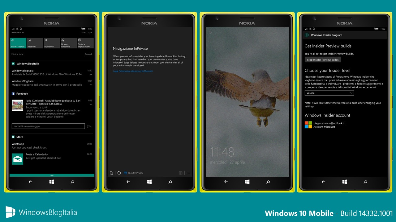 Windows 10 Mobile 14332.1001