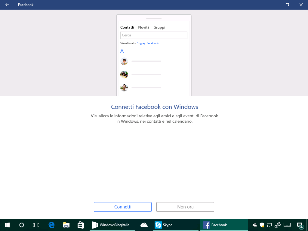 Facebook by Microsoft - Windows 10 - 2