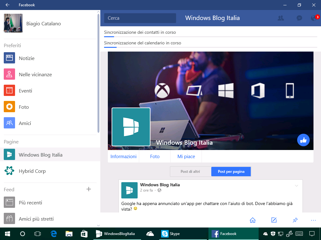 Facebook by Microsoft - Windows 10 - 3
