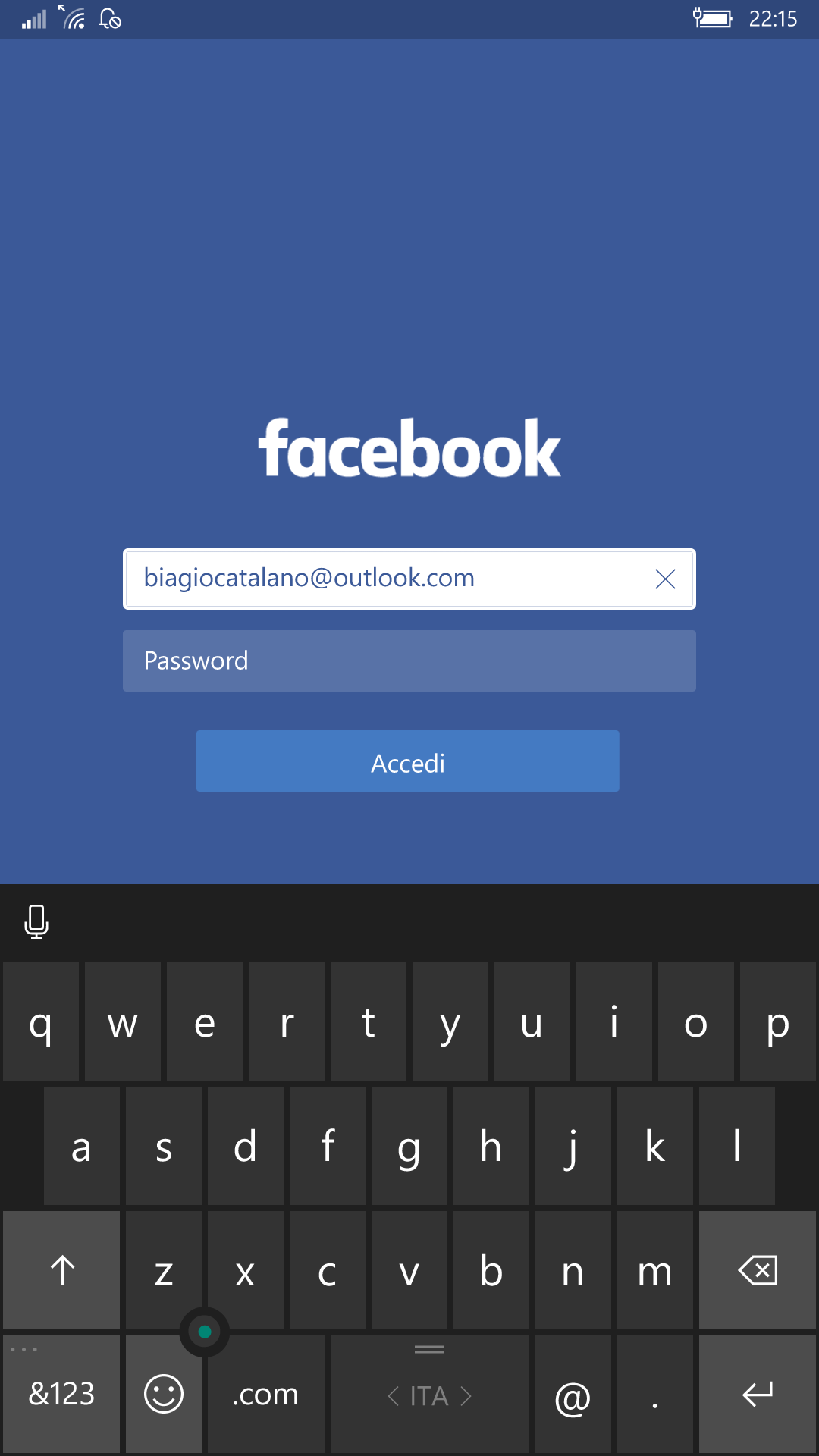 Facebook by Microsoft - Windows 10 Mobile - 1