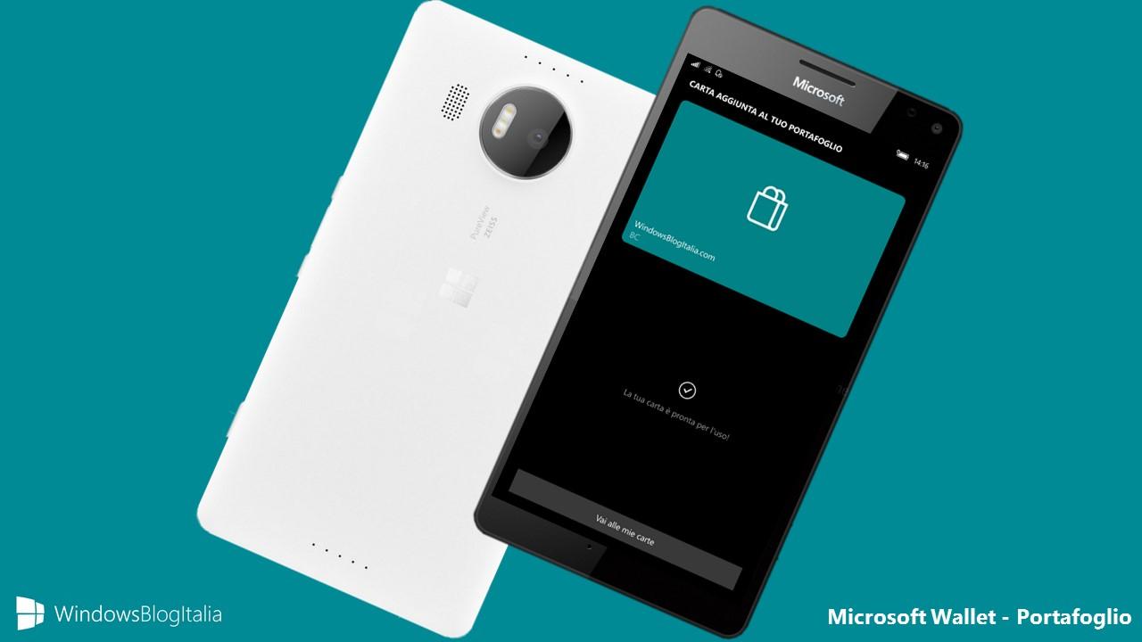 Microsoft Wallet - Portafoglio