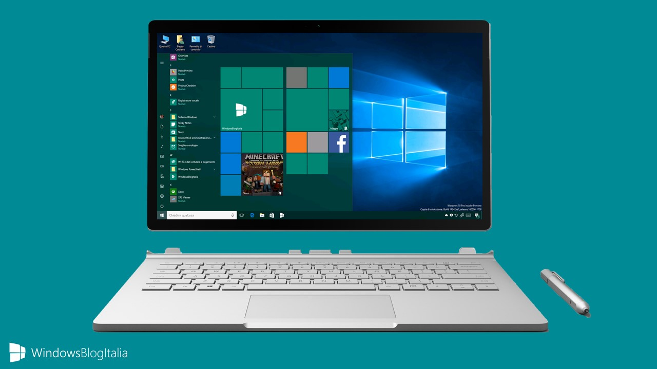 Problemi alle live tiles Windows 10