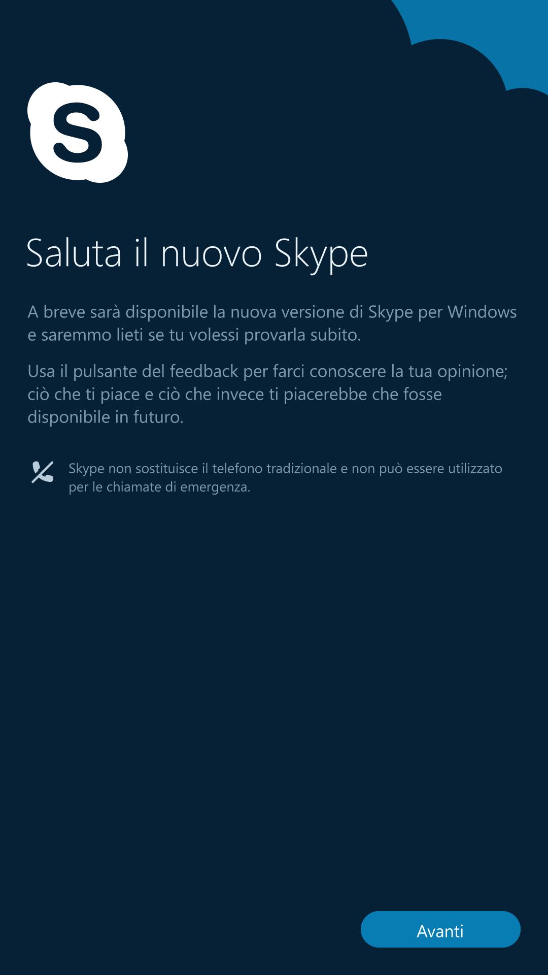 Skype - Windows 10 Mobile - 1