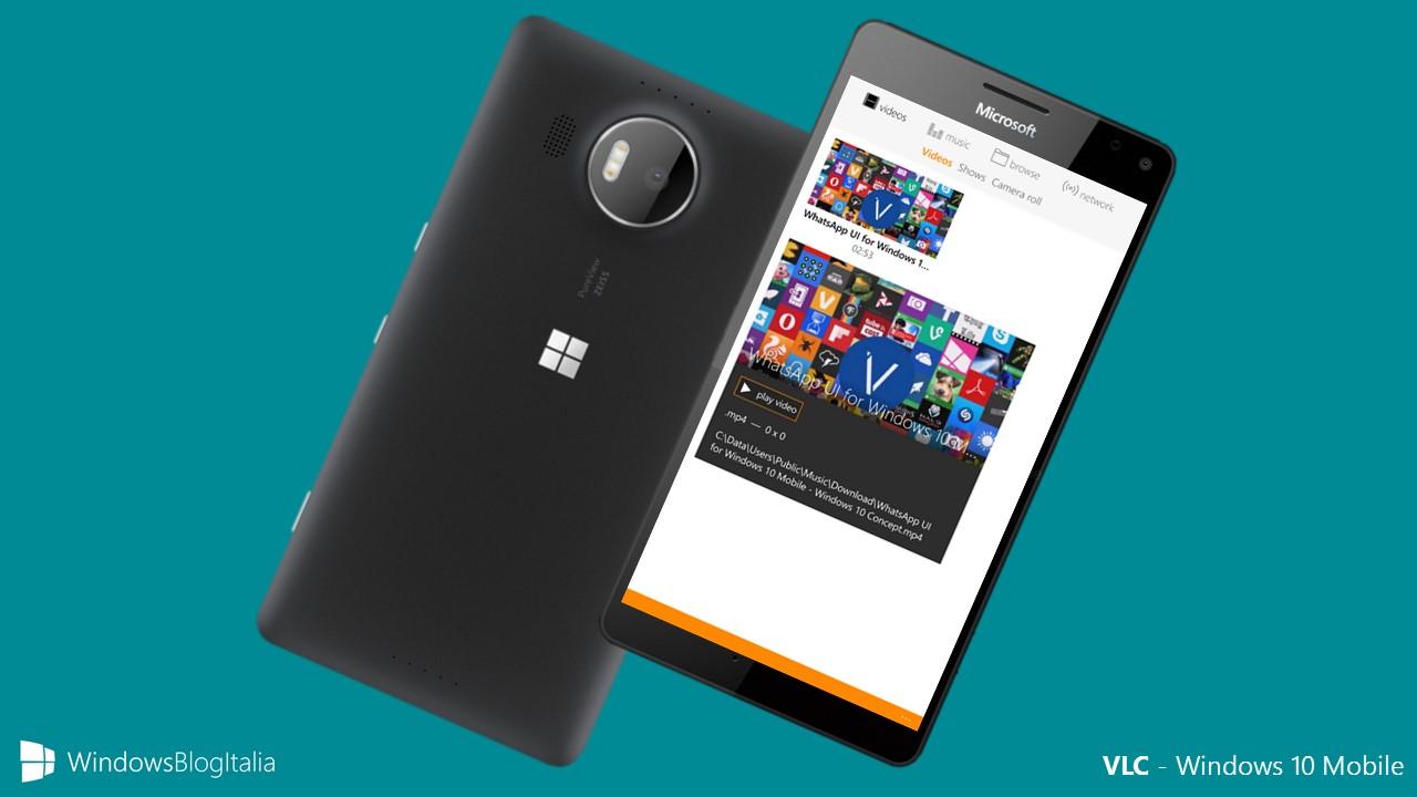 VLC - Windows 10 Mobile