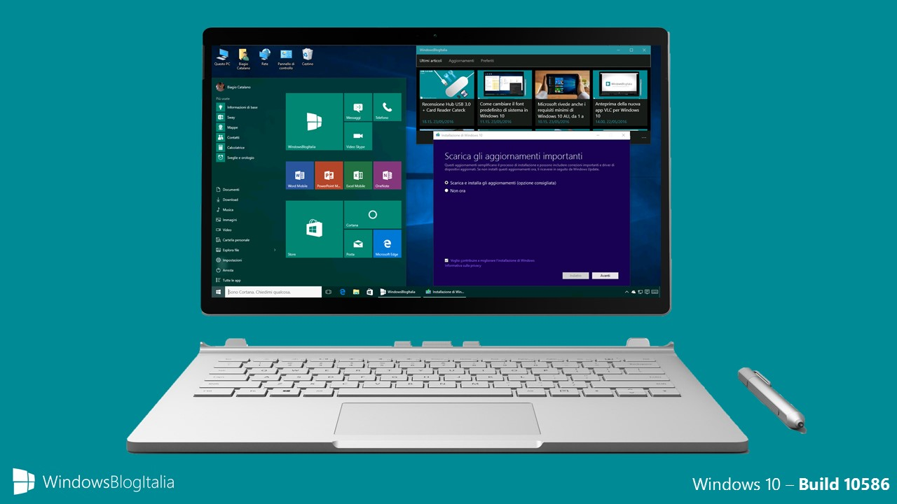 Windows 10 - build 10586