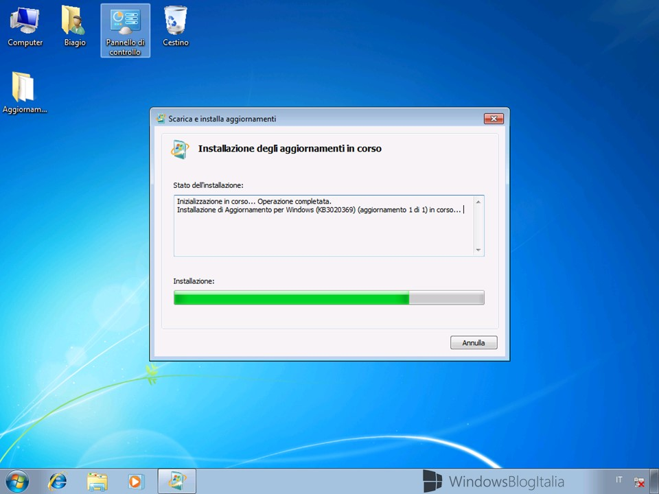Windows 7 SP1 + cumulative update - (2)