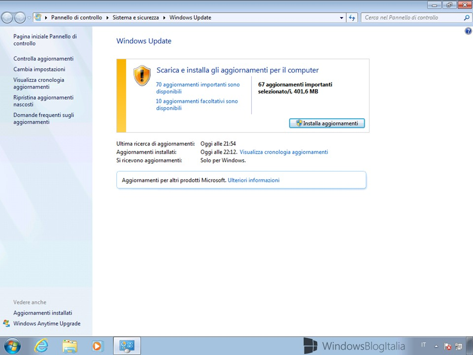 Windows 7 SP1 + cumulative update - (9)