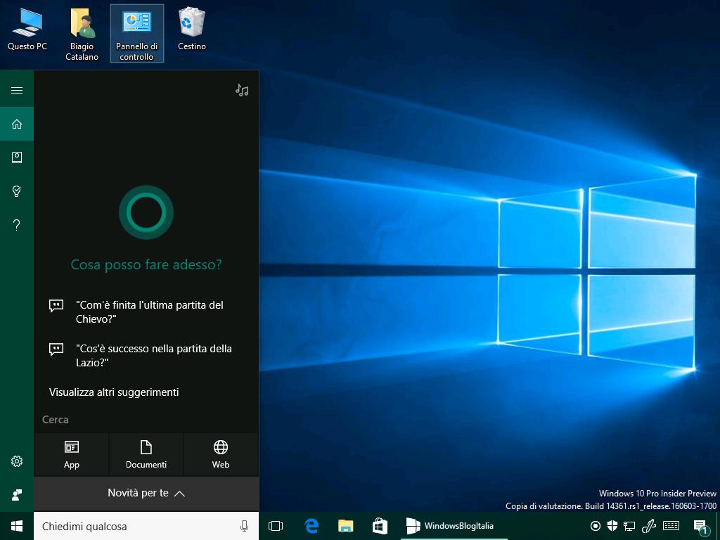 Cortana 14361