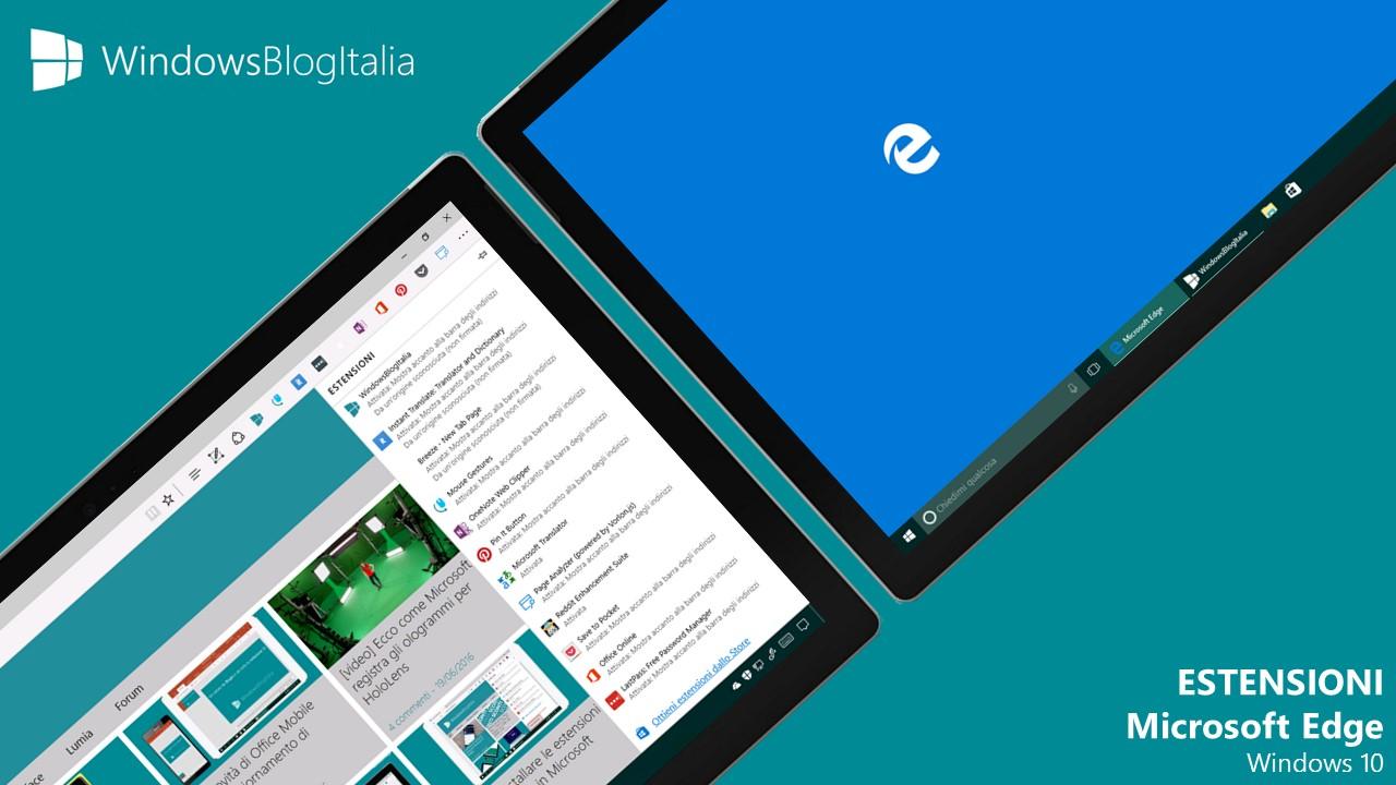 Estensioni - Microsoft Edge