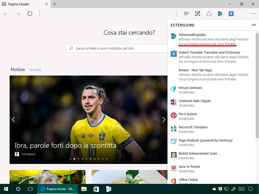 Estensioni non firmate - Microsoft Edge - (4)