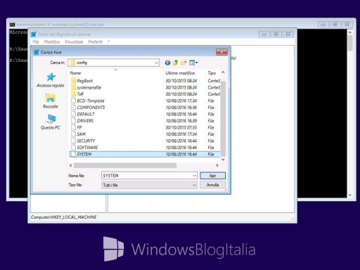 Reset password Windows - 8