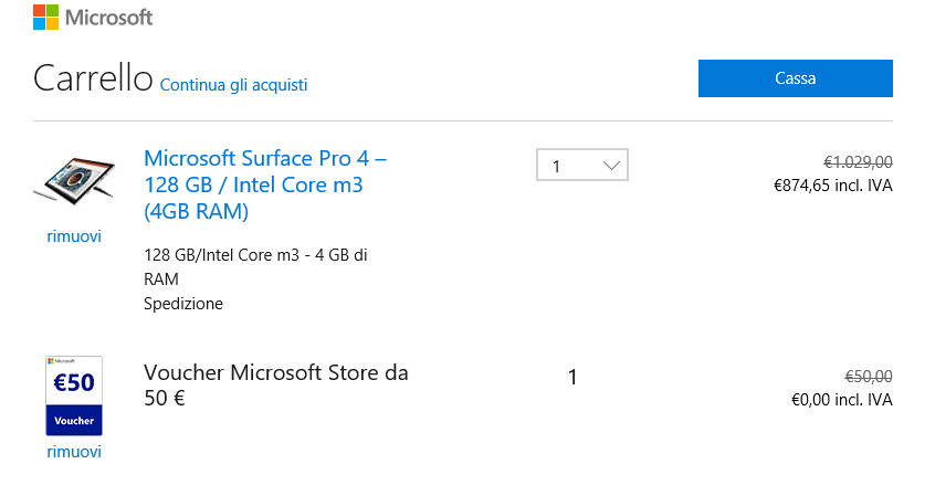 Sconto 50 Surface