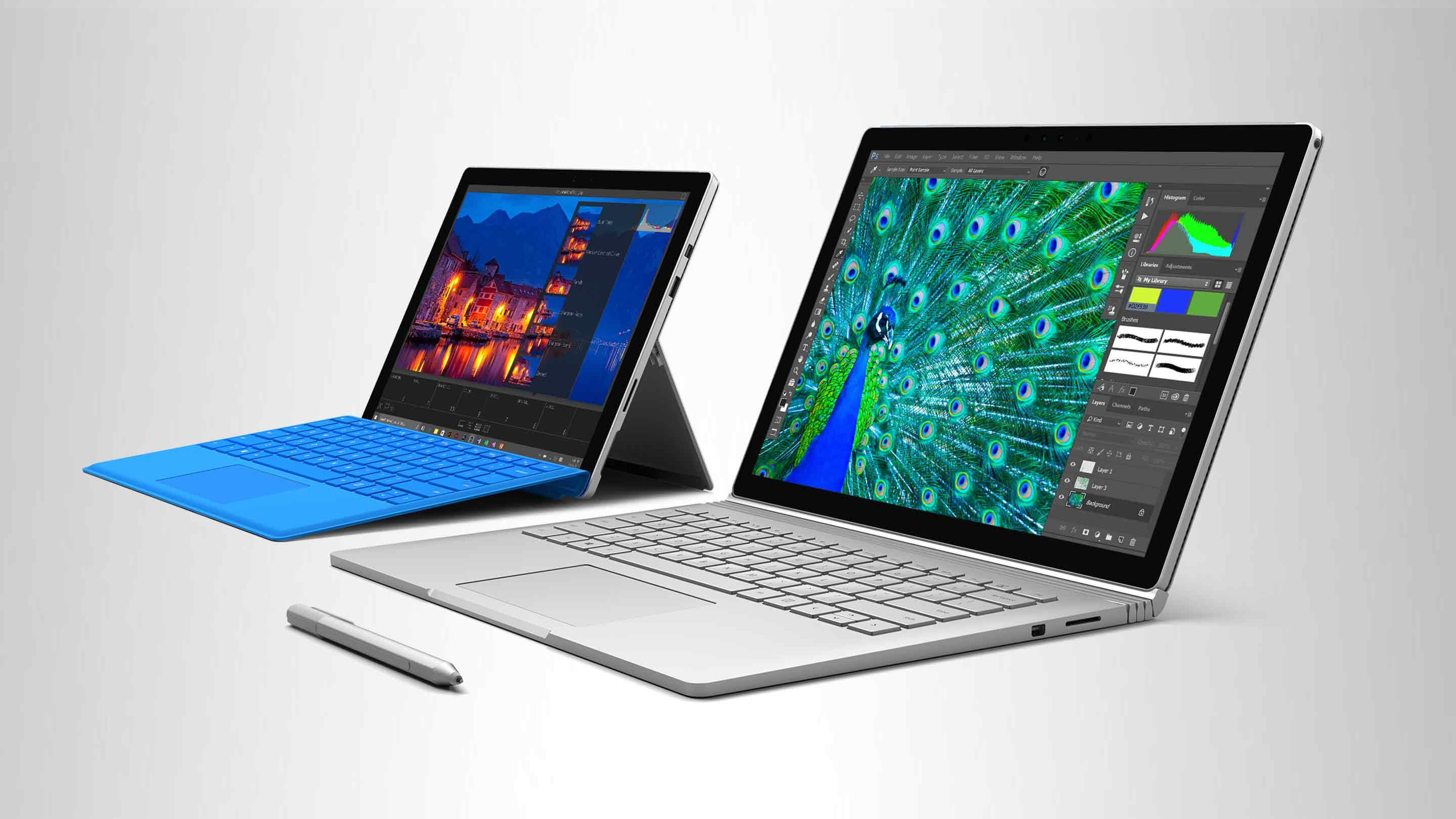 Surface Book e Surface Pro 4