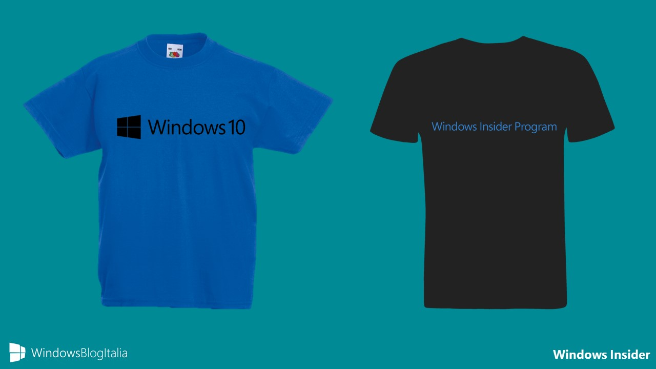 T-shirt Windows Insider