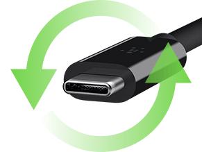 USB C immagine di esempio