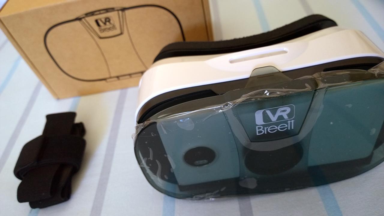 VR Breett - Dispositivo con Lumia 950 XL