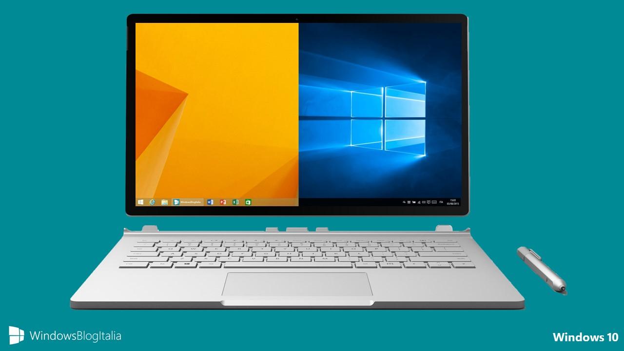 Aggiornare gratuitamente a Windows 10 dopo il 29 luglio 2016