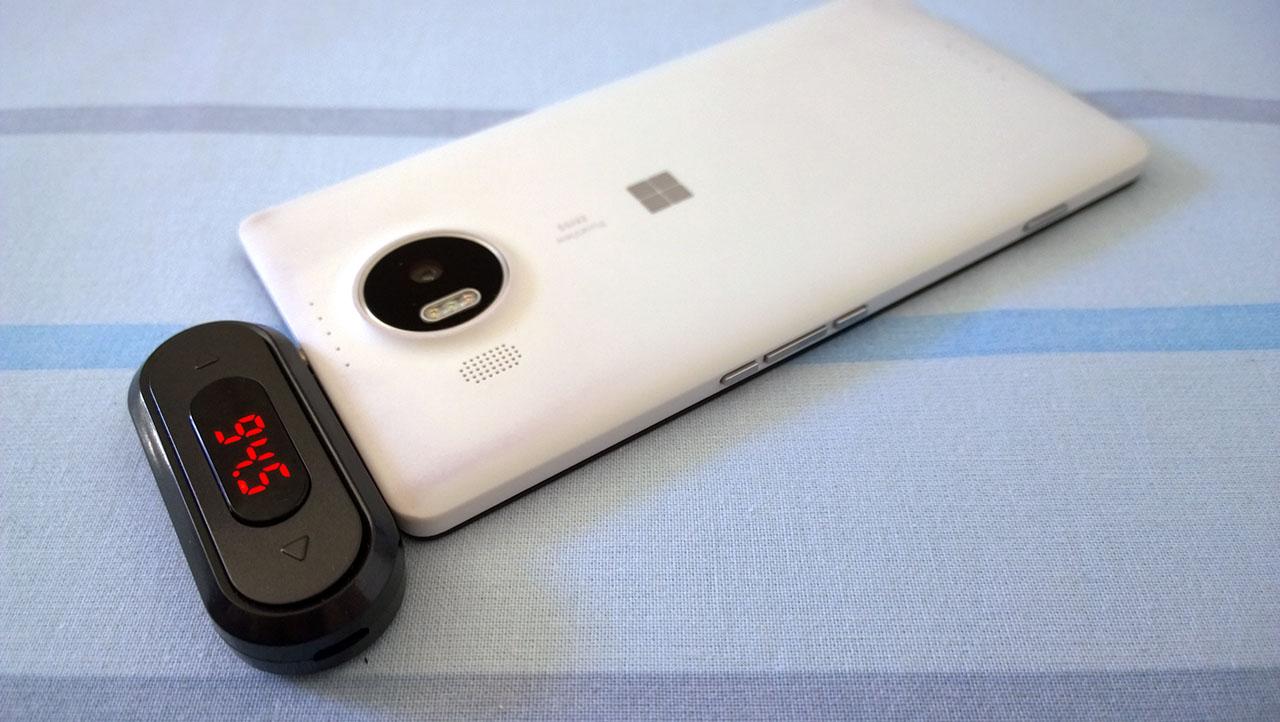 Doosl FM Transmitter - Lumia 950 XL