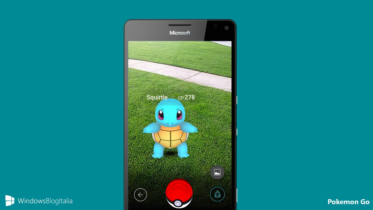 PoGo - Pokemon Go - Windows 10 e Windows 10 Mobile