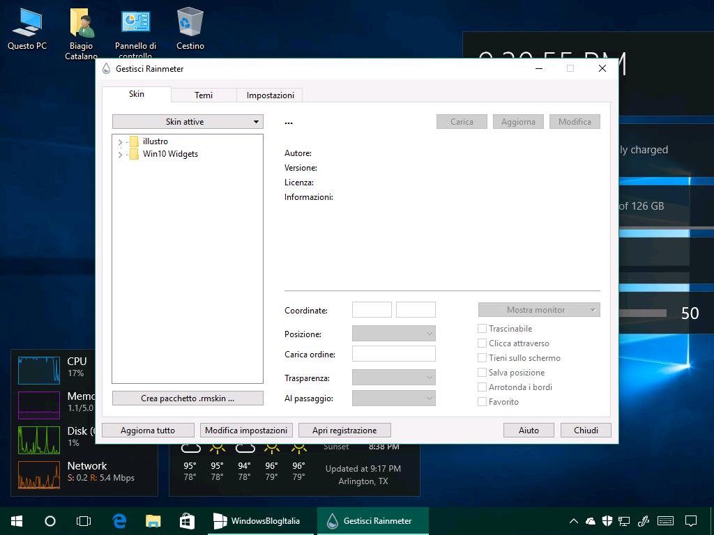 Vi mancano i gadget del Desktop? Ecco come averli su Windows 10