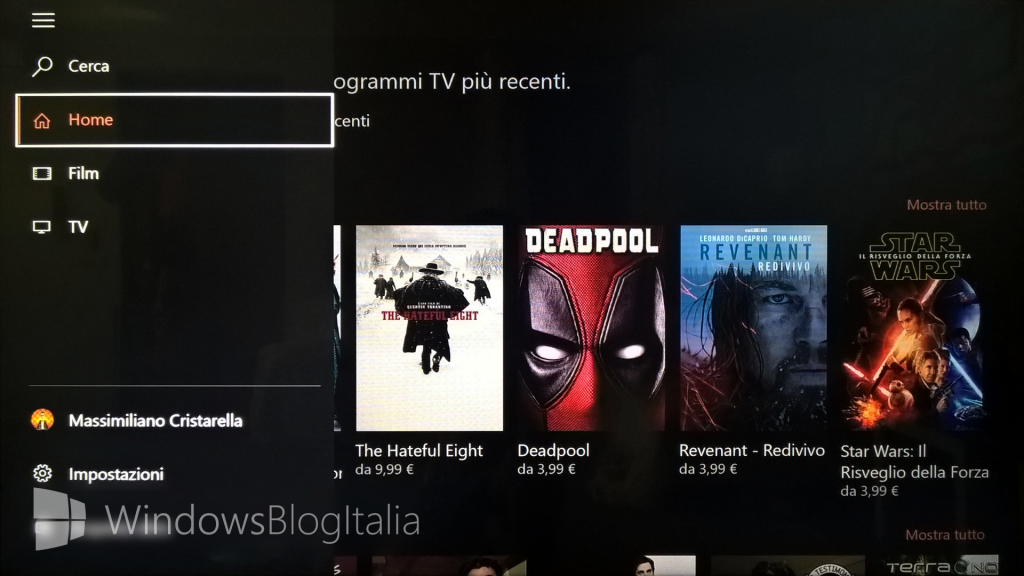 Xbox One FilmTV