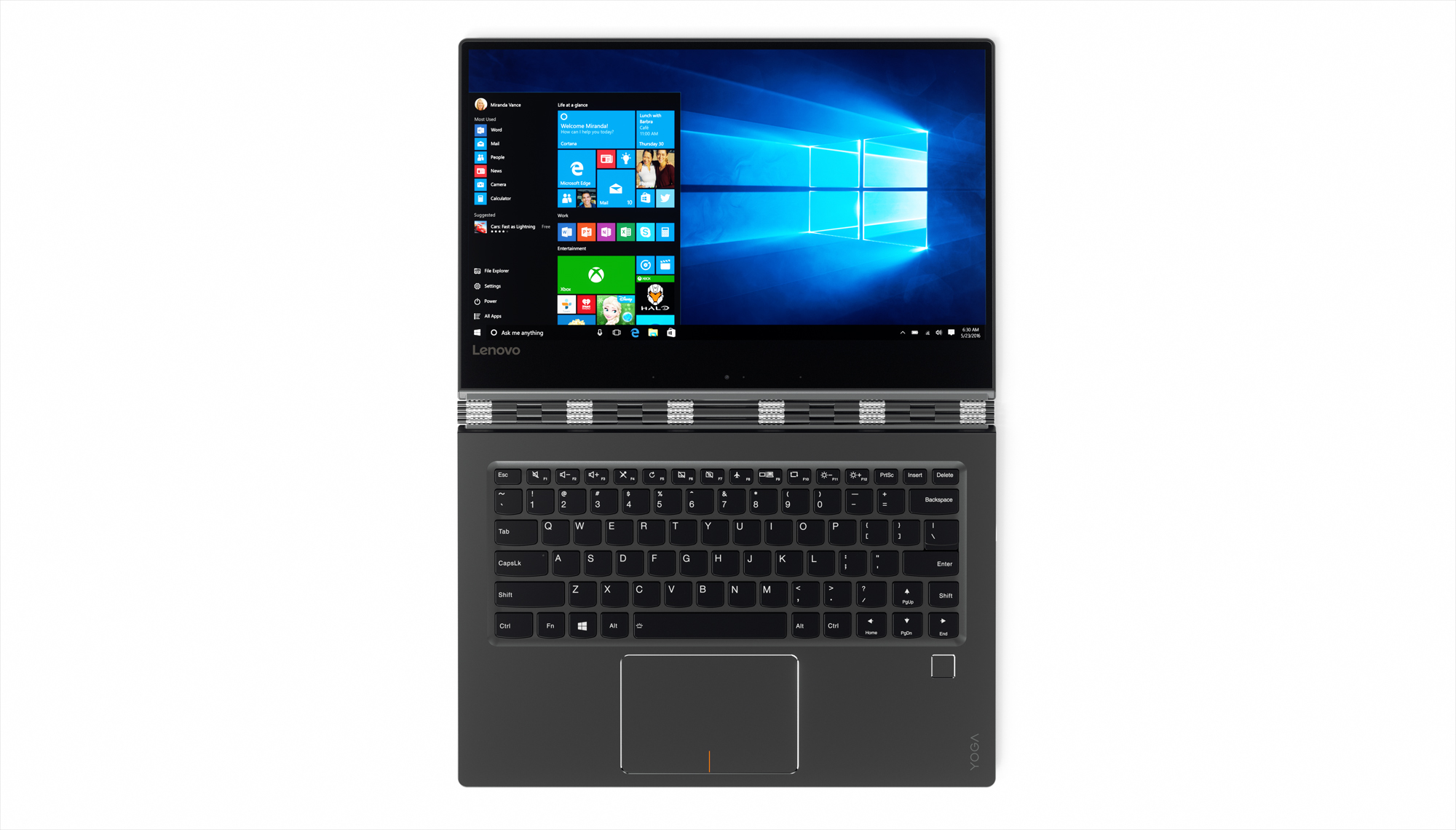 13_YOGA_910_14-Inch_Tour_Shot_Front_Gunmetal_Windows_10_screenfill