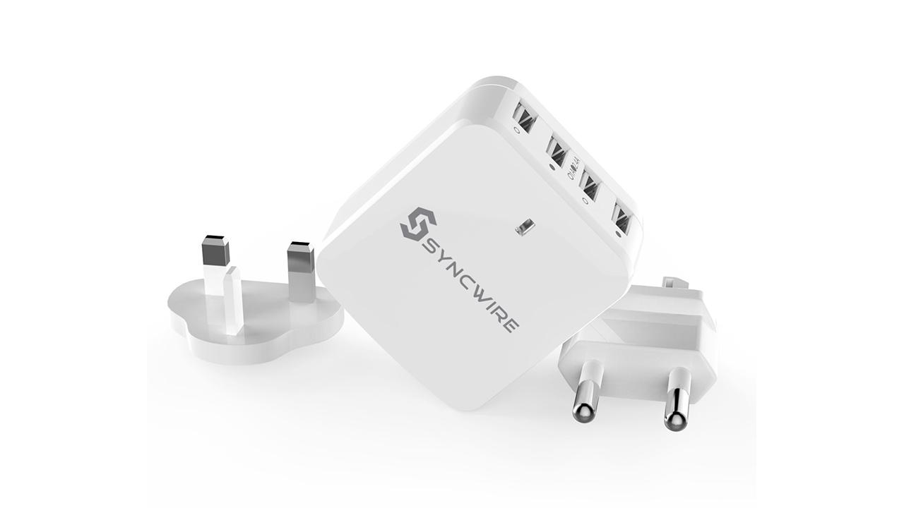 Syncwire - Caricatore portatile da muro