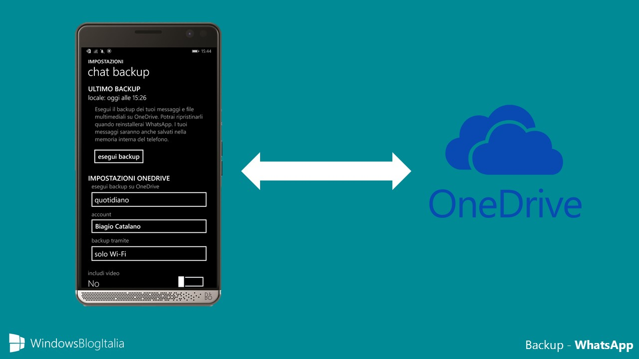 trasferire messaggi whatsapp da windows phone a android