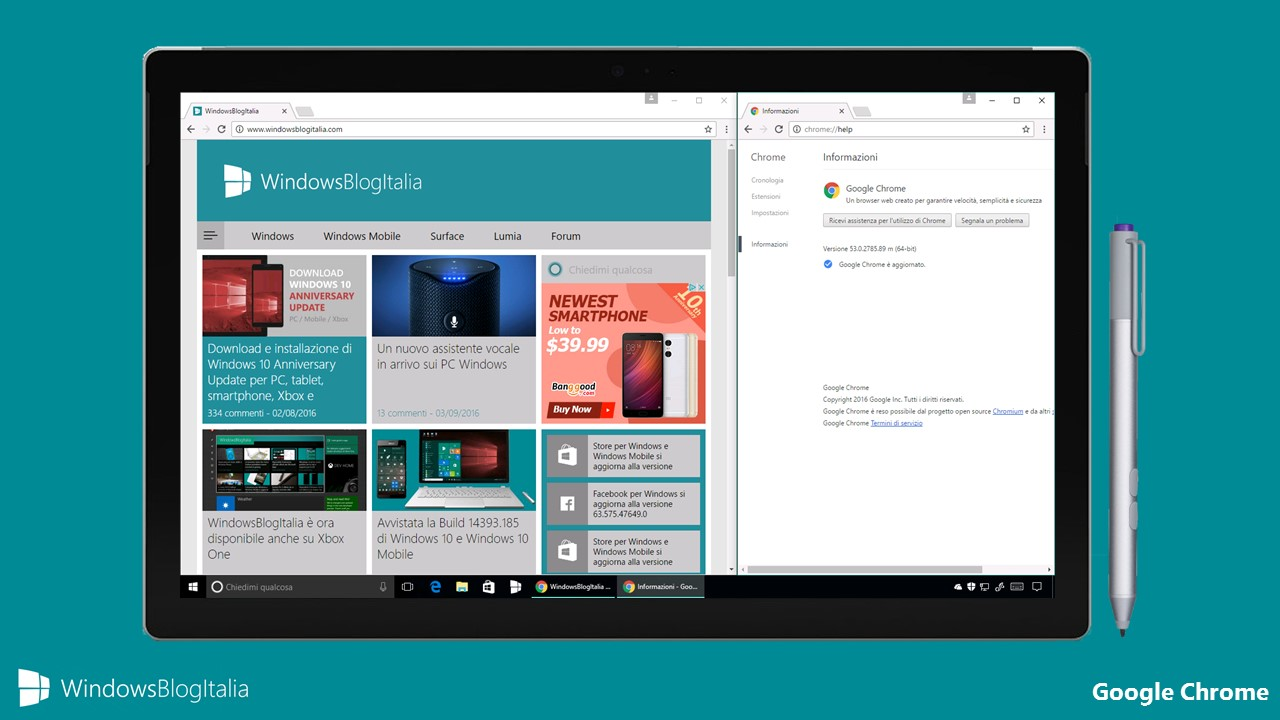 Google Chrome - Material Design + miglioramenti batteria