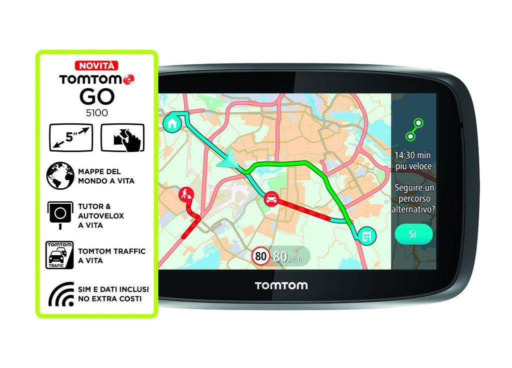 TomTom GO 5100 - Caratteristiche