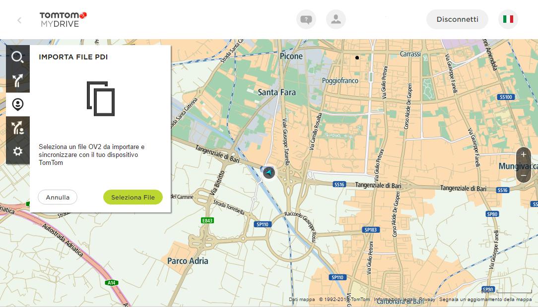 TomTom GO 5100 - MyDrive PDI personalizzati