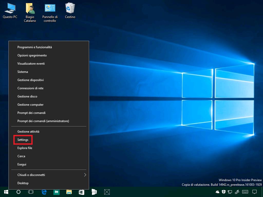 windows-10-build-14942-barra-degli-strumenti-impostazioni