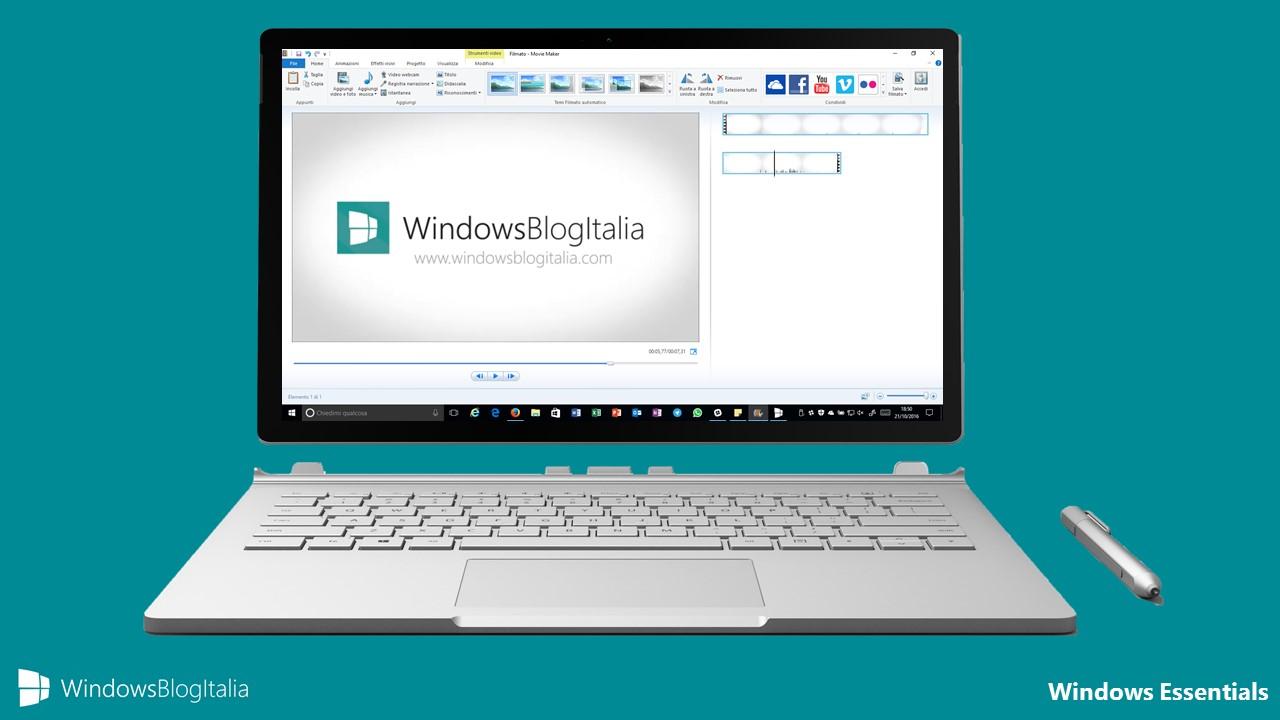 Windows Essentials - Movie Maker