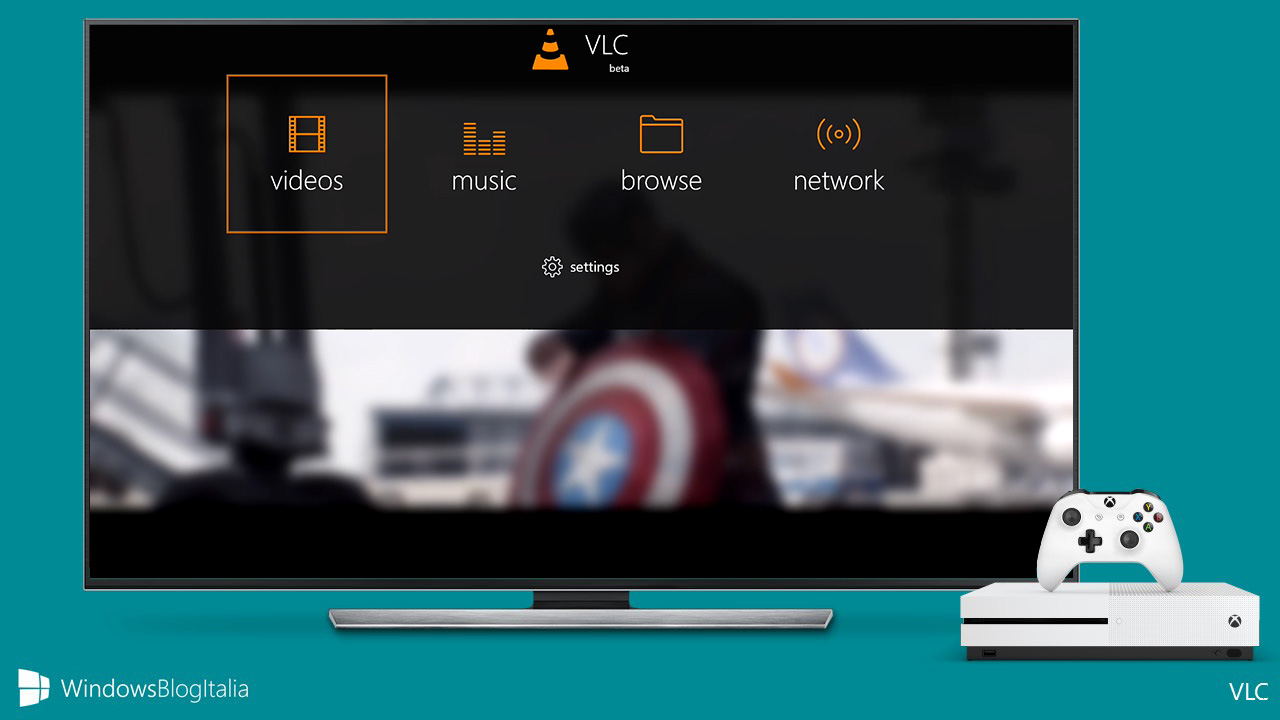 how to use vlc on xbox one