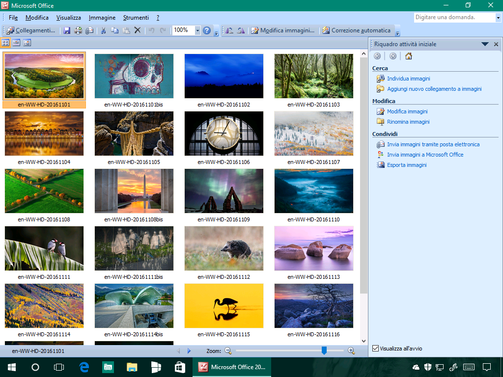 Come installare Microsoft Office Picture Manager in Windows 10