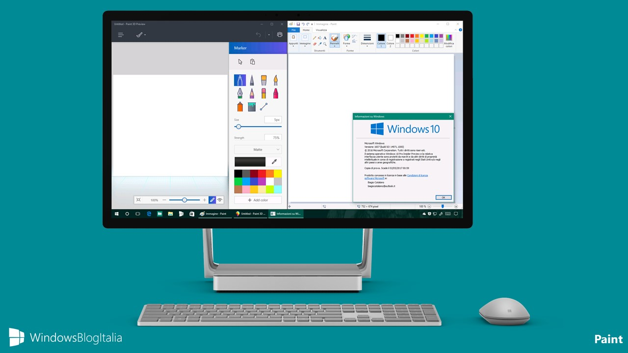 how to open microsoft paint windows 10