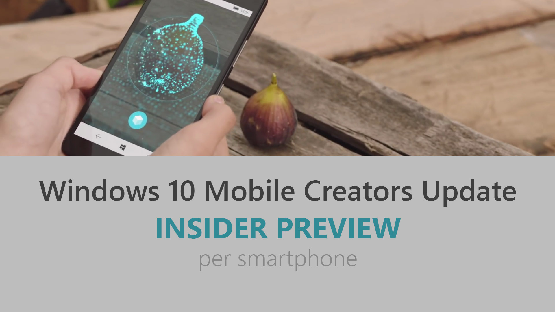 Windows 10 Mobile Creators Update - Build 15063