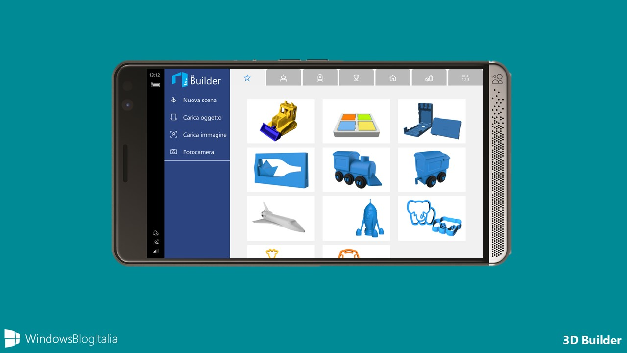 Download Di 3d Builder Per Windows 10 Mobile E Xbox